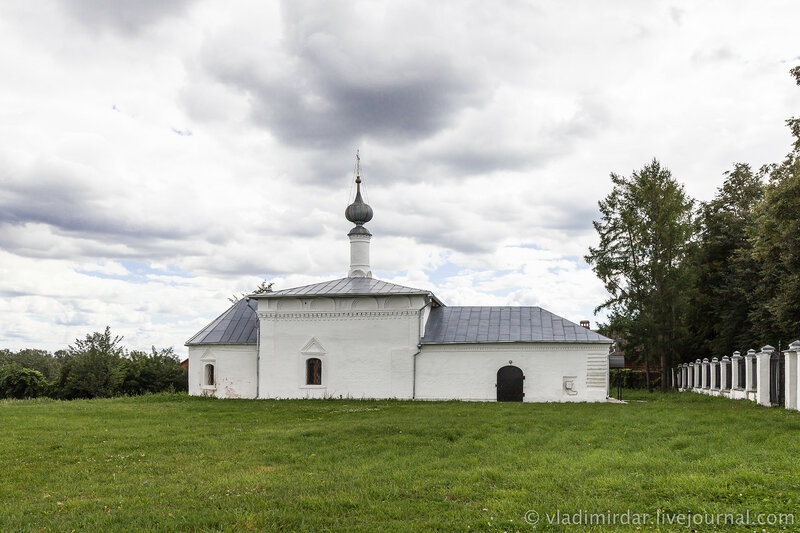 Никольская церковь. Суздаль.