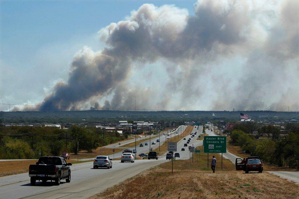 APTOPIX Texas Wildfires