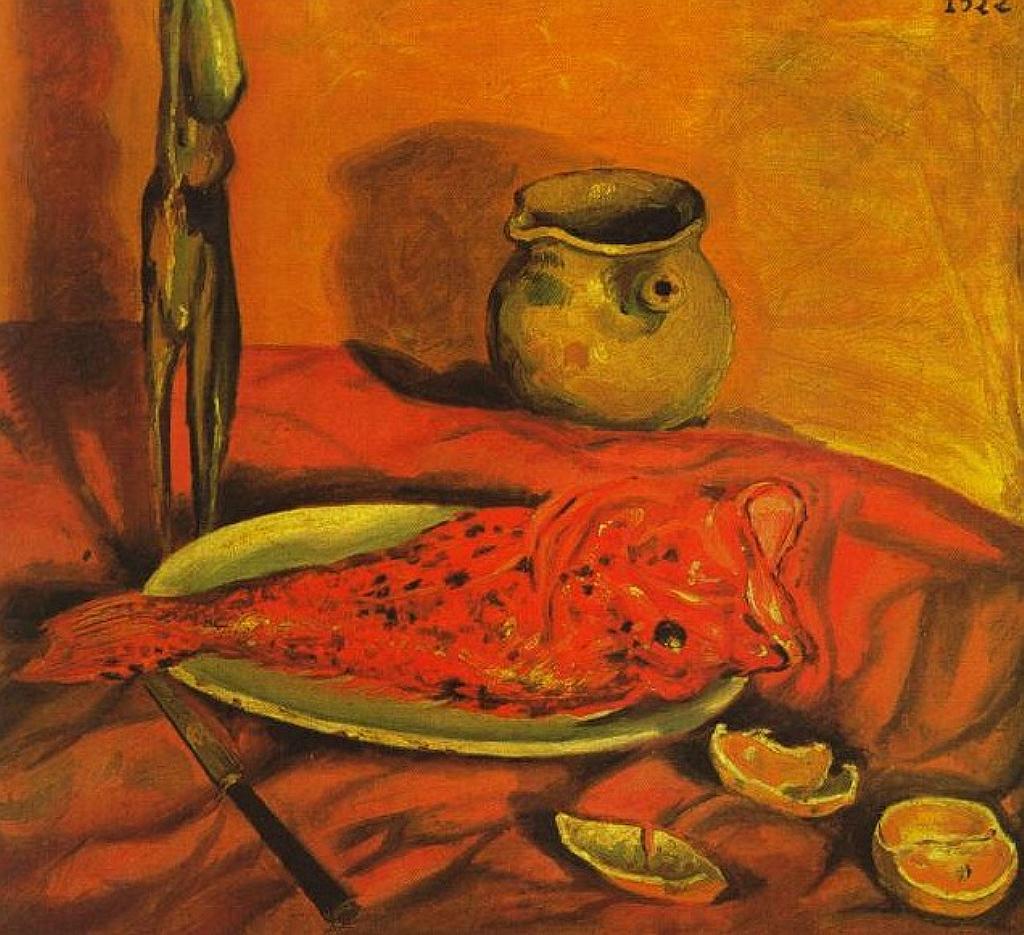 Still Life (Pulpo y scorpa), 1922 by Salvador DaliХ.jpg