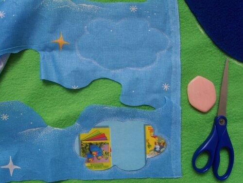 Развивающий коврик... как научиться кроить