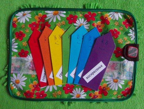 Игровой развивающий коврик для детей (30*20 см.) Авторская ручная работа