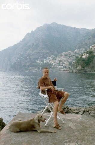 Franco Zeffirelli on Holiday