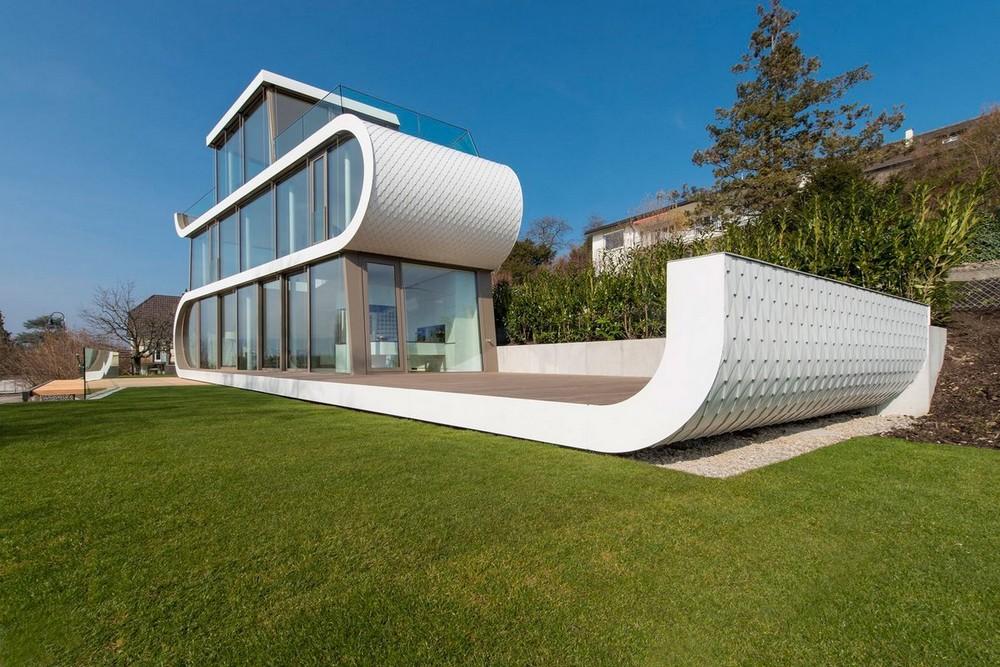 Energy efficient house in Switzerland