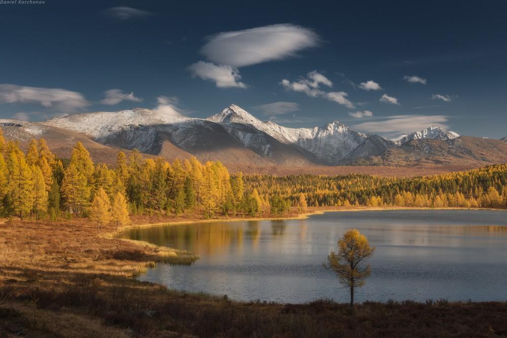 Волшебные осенние фотографии Алтая