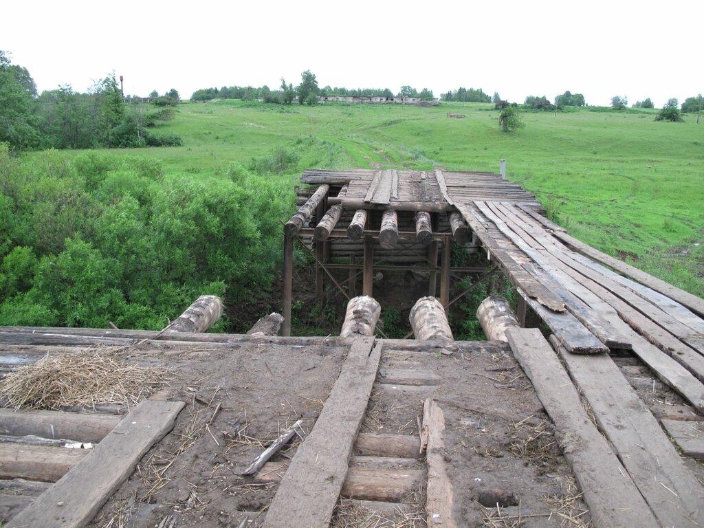 Еще один мост рухнул:(