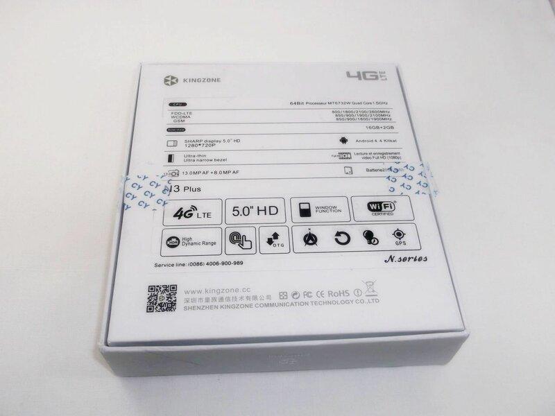 GearBest: Смартфон Kingzone N3 Plus - 64х битное обновление