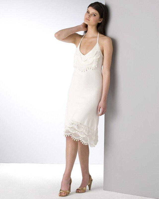 Платье с веерами