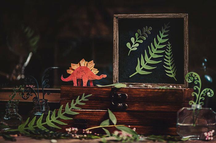 В память о лете. Мои летние динозавры (My summer dinosaur). Автор работ: Дина Беленко (Dina Belenko).