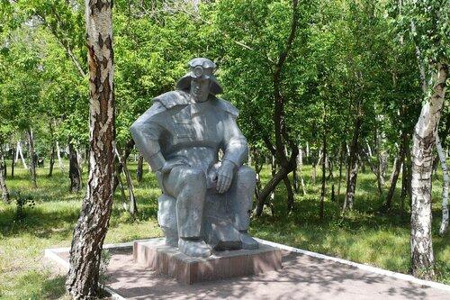 памятник Шахтерам в Караганде. 2011 г