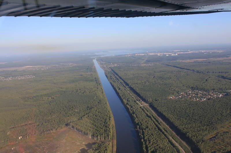 Канал им.Москвы, Дубна