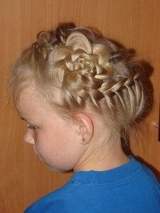 Ещё одна причёска