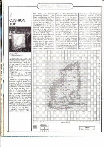 Вязание филейное схемы коты 3
