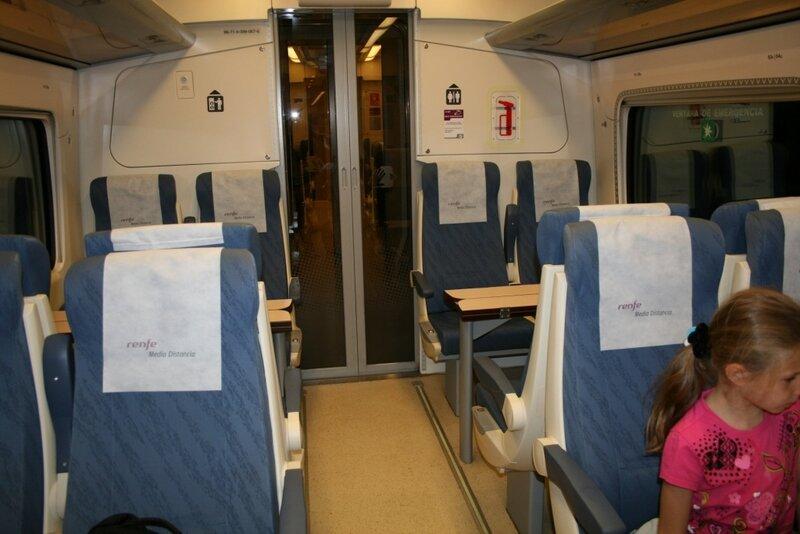Комфортные испанские поезда
