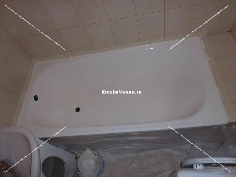 Как залить ванну