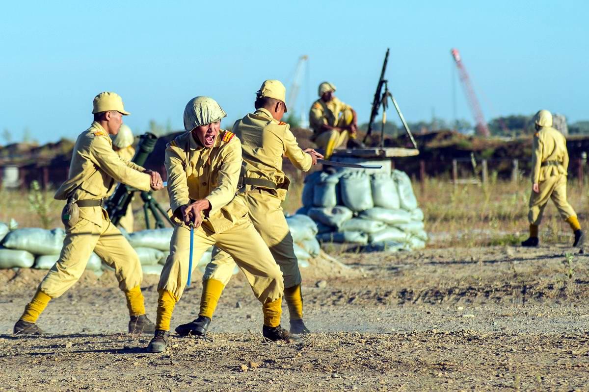 Разгром японцев на берегах Амура: Реконструкция событий времен 2-й мировой войны (3)