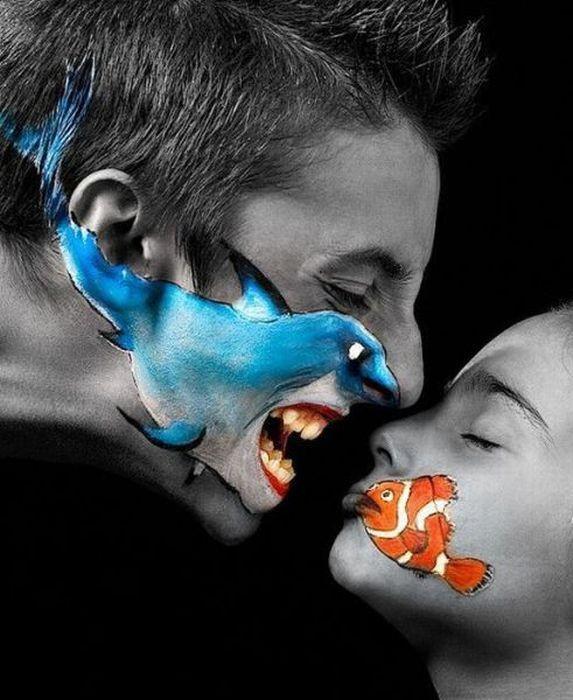 Картинки Смехота-21: красивый поцелуй