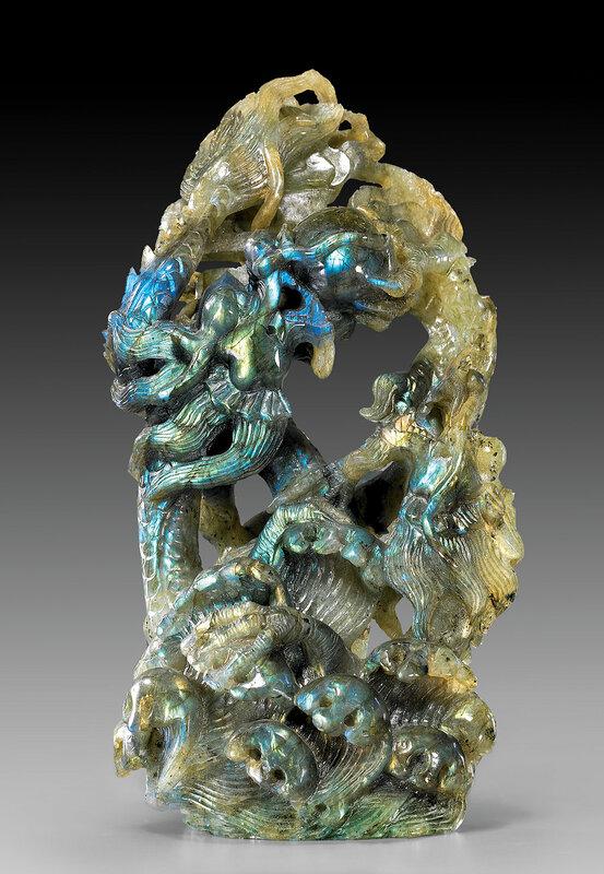 Резьба китайских мастеров. Камень