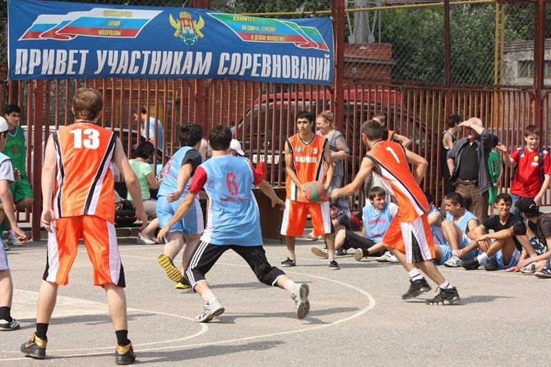 дагестан, стритбол. баскетбол, дагестанцы, махачкала. Фото: Гамид Гитинов