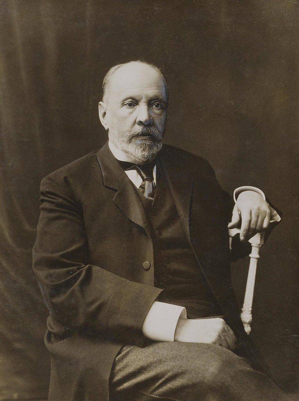 Портрет Сергея Юлиевича Витте. 1915