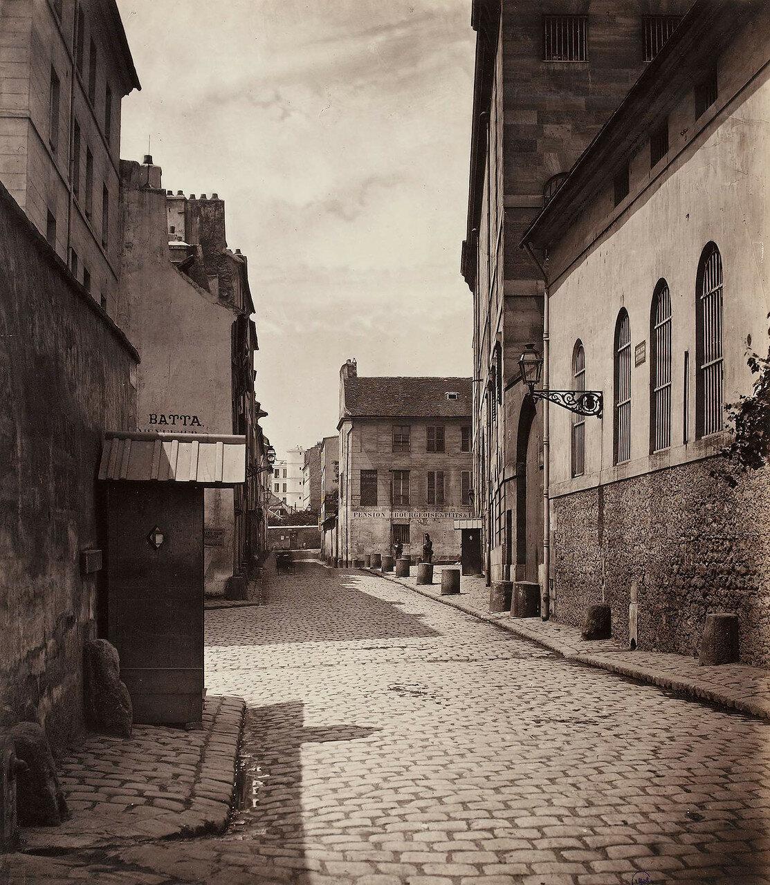 1865-1868. Рю Пюи д'Эрмит (тюрьма «Святая Пелагия»