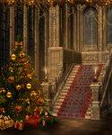 новогодние и рождественские фоны