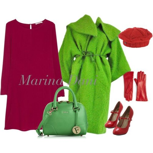 Зеленый БО. Коллекции от Marina Danilevskaya