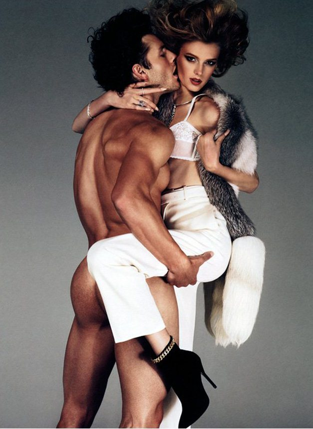 Sigrid Agren and Parker Gregory by Giampaolo Sgura / Сигрид Агрен и Паркер Грегори в журнале Antidote, осень-зима 2011