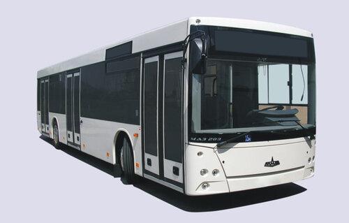 автопробег автобуса МАЗ