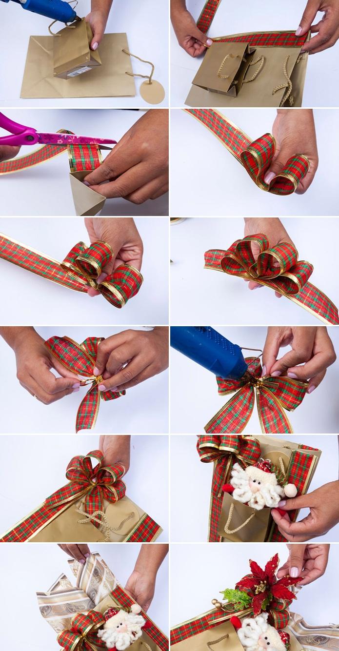 Упаковка для новогодних подарков 90