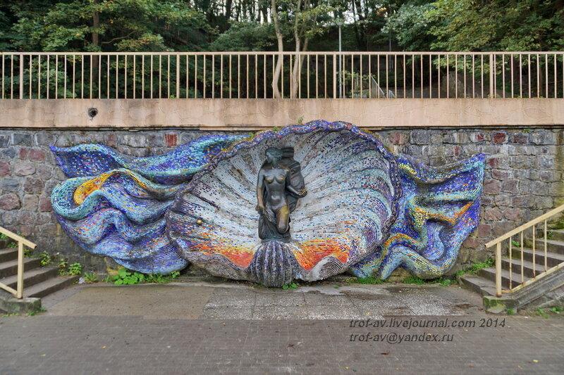 Скульптура Рождение Венеры. Светлогорск-Rauschen
