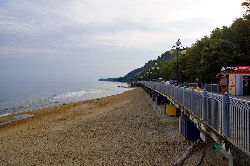 Морское побережье. Светлогорск-Rauschen