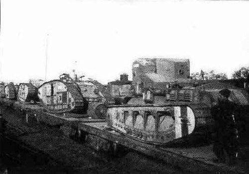 белые танки