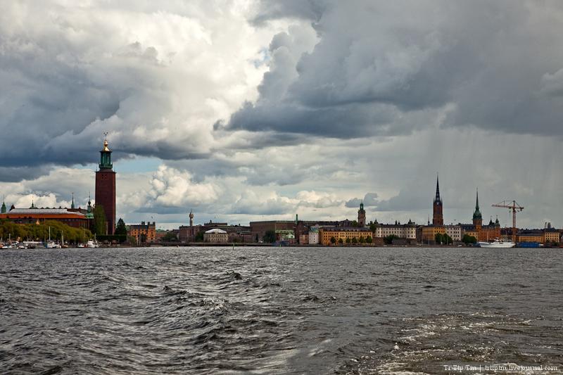 Между озером и морем. Стокгольм. Виды с воды.