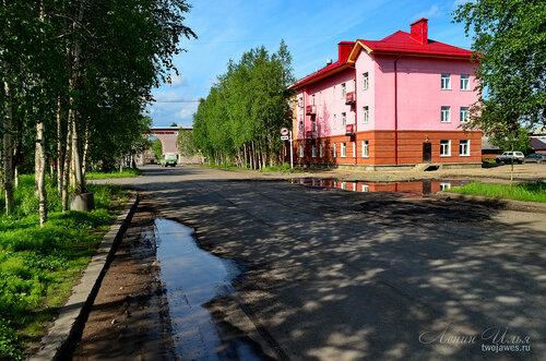 Фото города Инта №7791  Кирова 26 и 17 21.06.2015_13:04