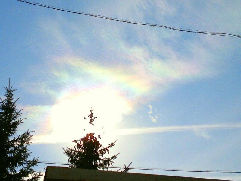 Радужные облака 2011.09.28  12:40