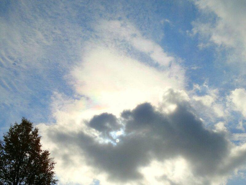 Радужные облака 2011.09.28  12:46