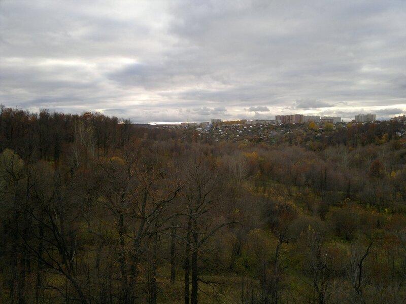р.Трусиха (вид с моста)