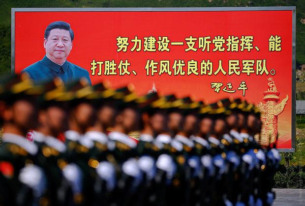 Репетиция парада в Пекине