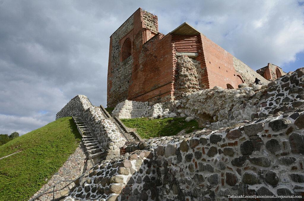 Башня Гедимина или Верхний замок в Вильнюсе