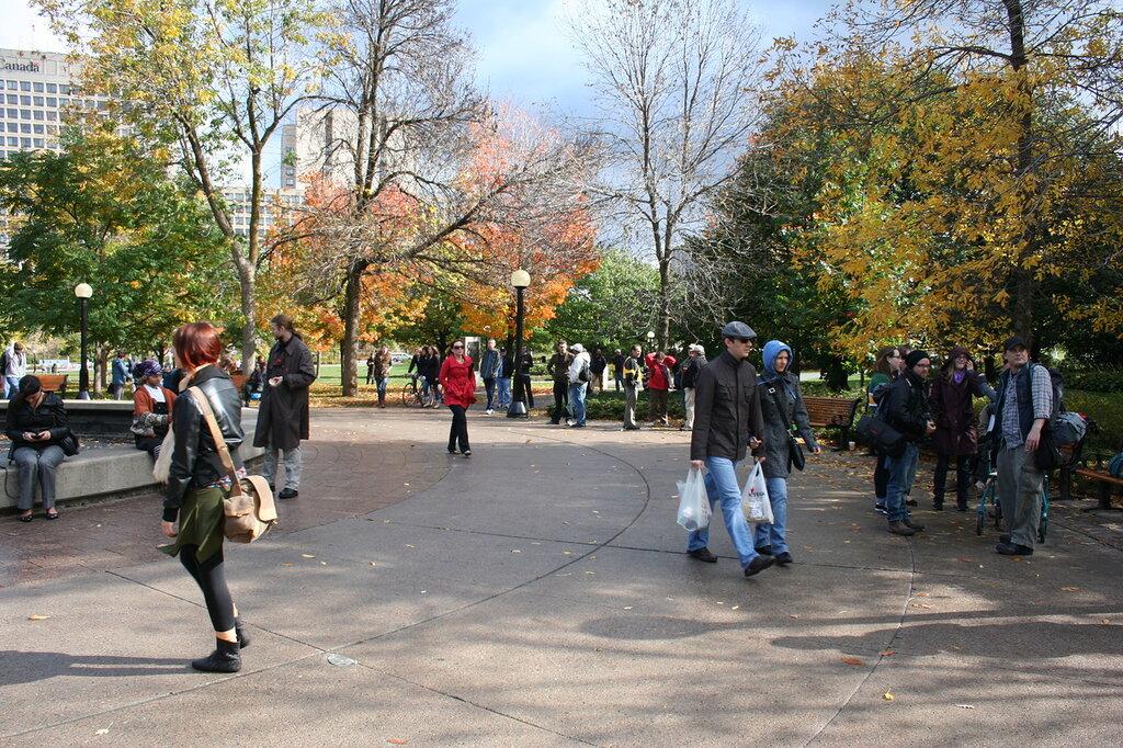 Confederation park, Ottawa