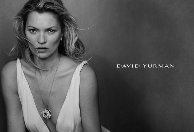 Кейт Мосс (Kate Moss) в рекламной фотосессии для David Yurman (5 фото)