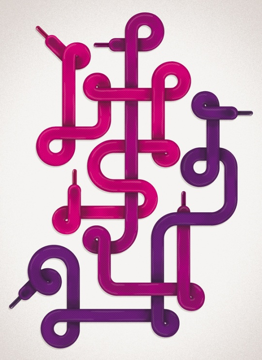 Creative Typography and Illustrations by Sebastien CUYPERS