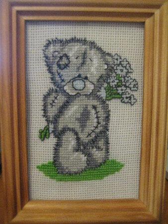 Схемы для вышивки крестом Мишки Тедди скачать бесплатно.