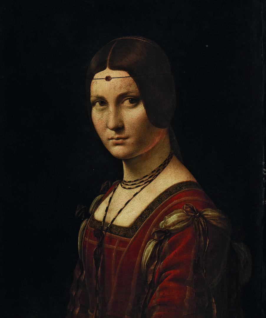 Leonardo Da Vinci Belle Ferronière