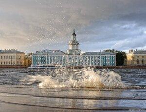 Крылья Невы (Кунсткамера, Нева, Петербург, солнце)