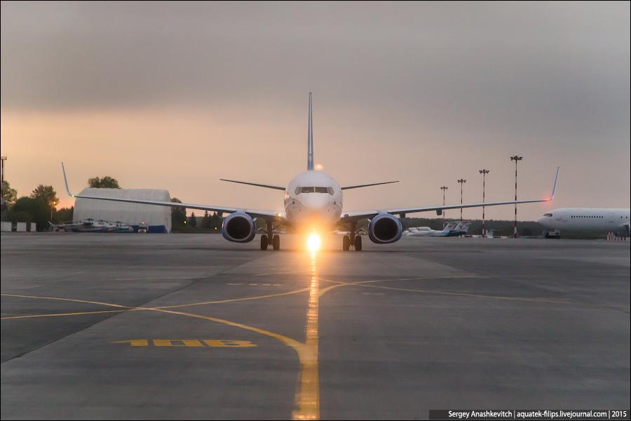 Один день из жизни самолетов