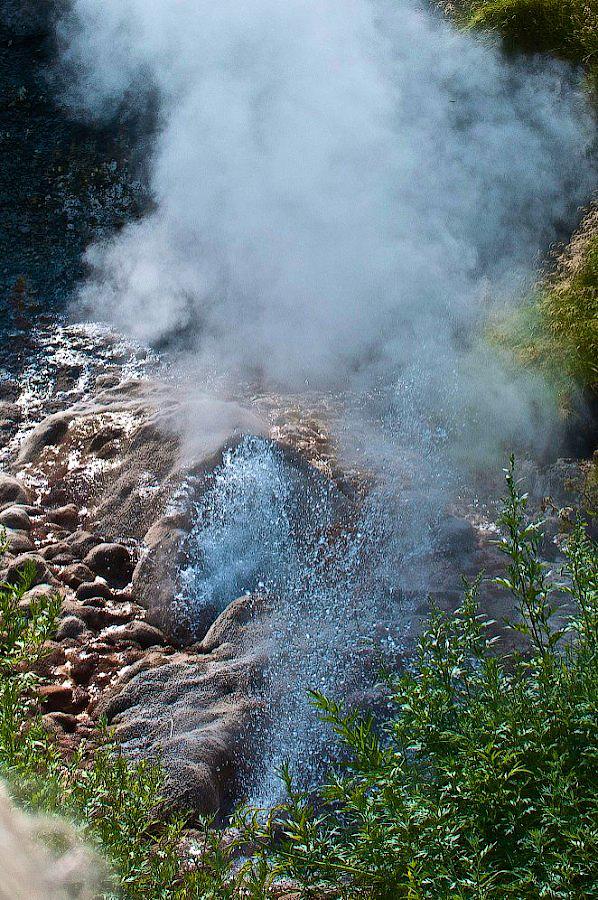 Большая Долина Гейзеров и кальдера вулкана Узон