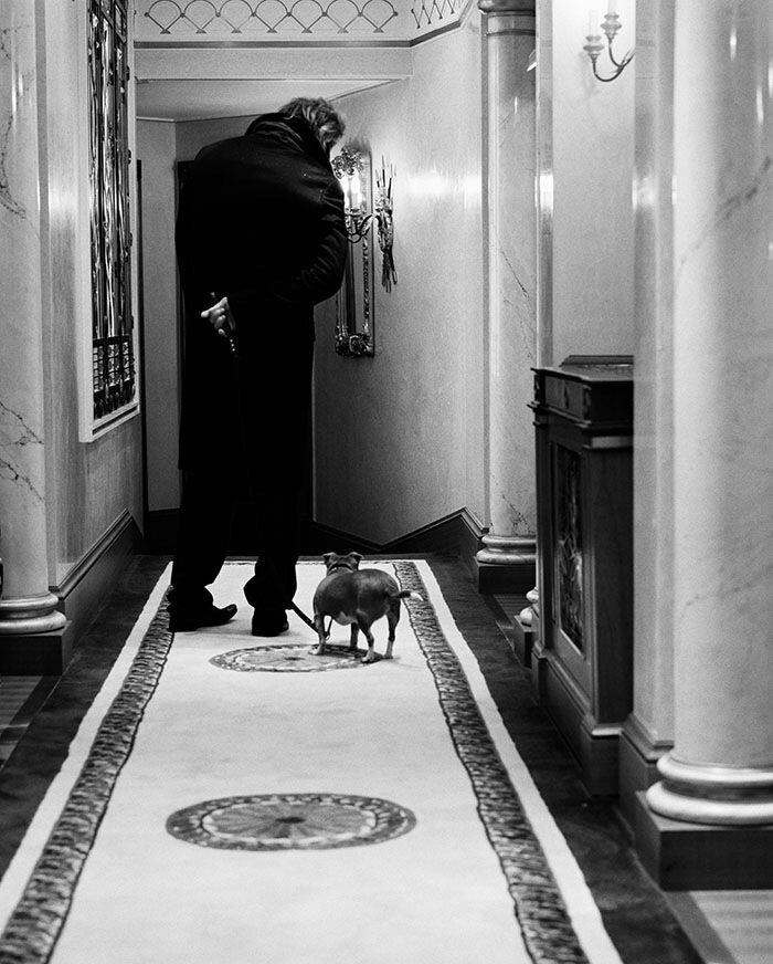 BRYAN ADAMS PHOTOGRAPHYMickey Rourke / Zoo Magazine September 2005