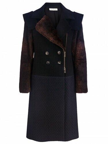 Dries Van Noten Rabbit Fur Coat $2830