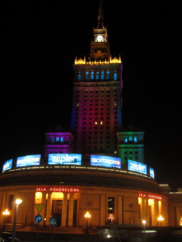 Дворец Культуры и Науки в Варшаве